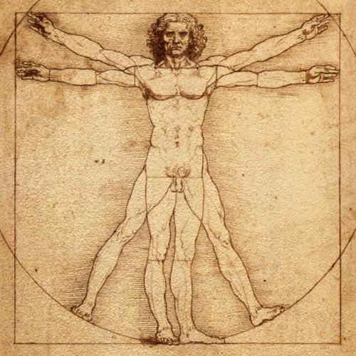The Beauty of Diagrams: Vitruvian Man & Others I Can't View