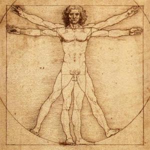 Da Vinci's Viturvian Man