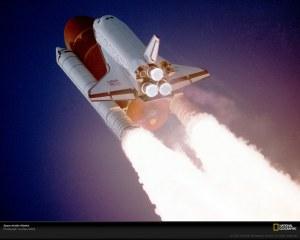 Atlantis ascending - STS-27