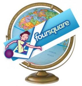 Foursquare Globe