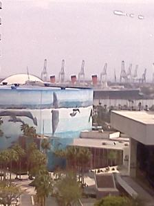 The Queen Mary from my hotel window