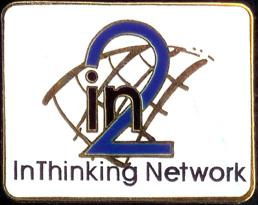In2:InThinking Logo Pin