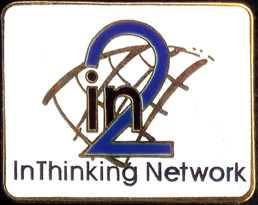 In2:InThinking Logo Pin