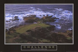Challenging Golf Hole