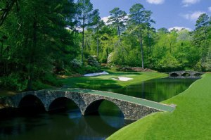 Amen Corner at Augusta National Golf Course