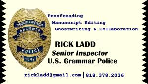 Grammar Police Biz Card