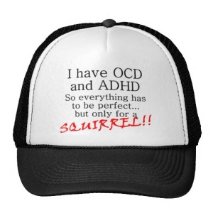 OCD & ADD Hat