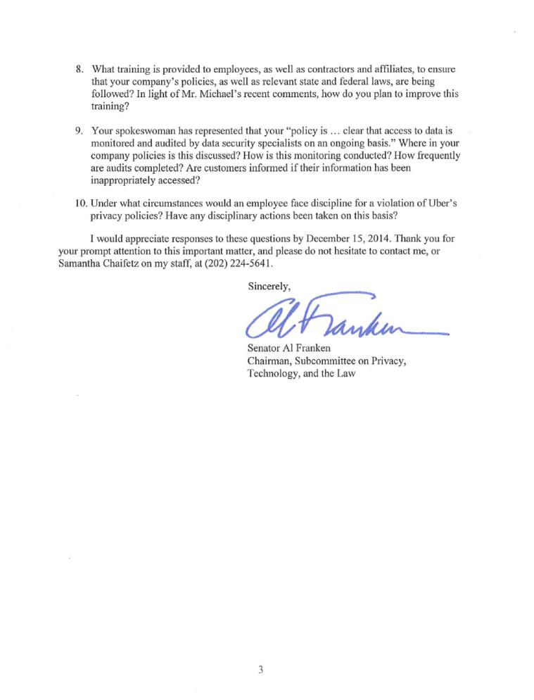 Franken Letter to Uber - Page 3