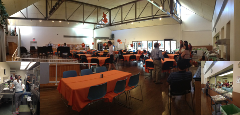 Senior Center at Thanksgiving