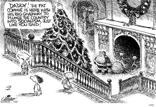 Santa's a Socialist