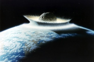 Asteroid Strike of Earth