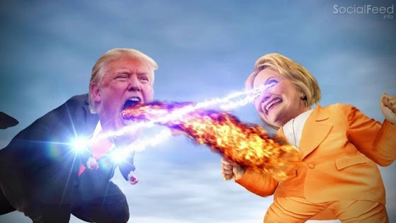 Hillary vs Trump Monsters