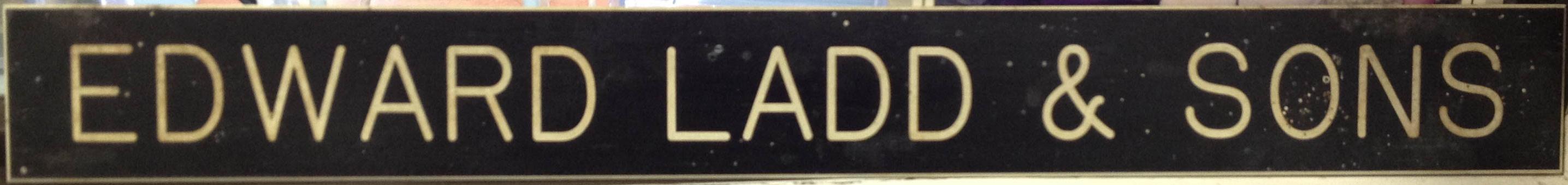 Edward Ladd & Sons