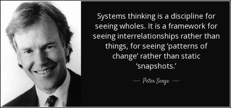 Senge on Seeing Systems