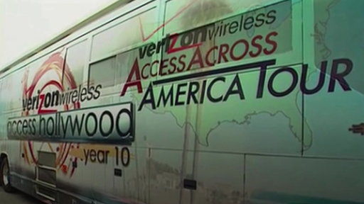 Access Hollywood Bus