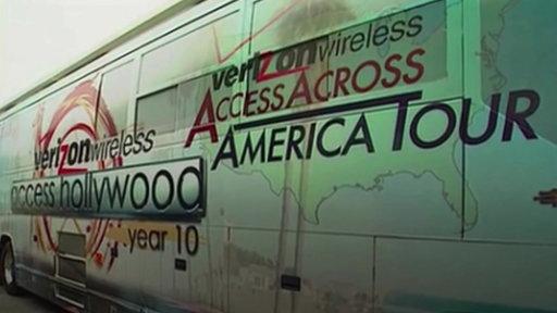 Access Hollywood Bus