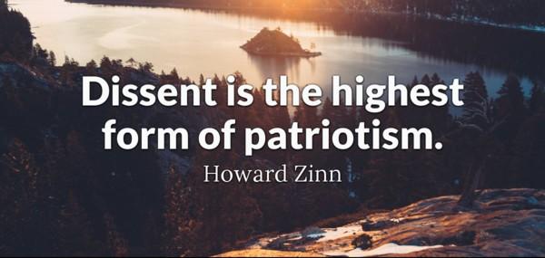 Dissent is Patriotism
